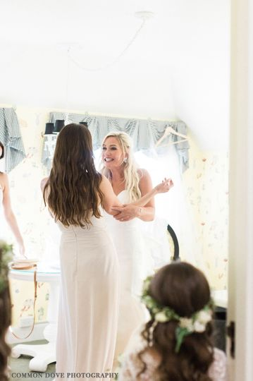 Amanda Wedding day