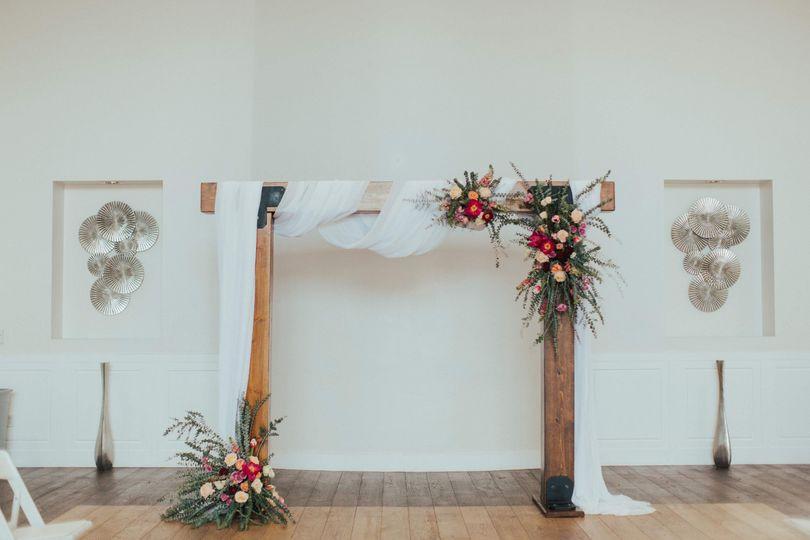 Wood Beam Arch