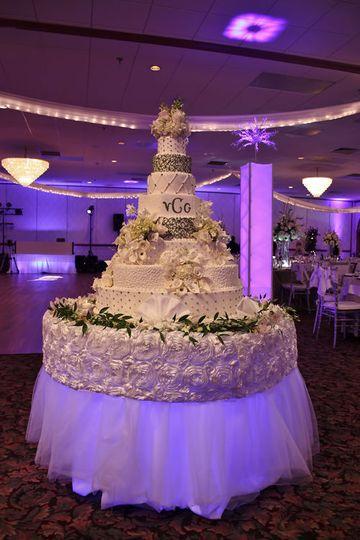 Cake table lgighting