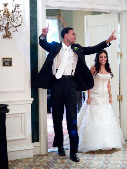 NBA celebrity wedding