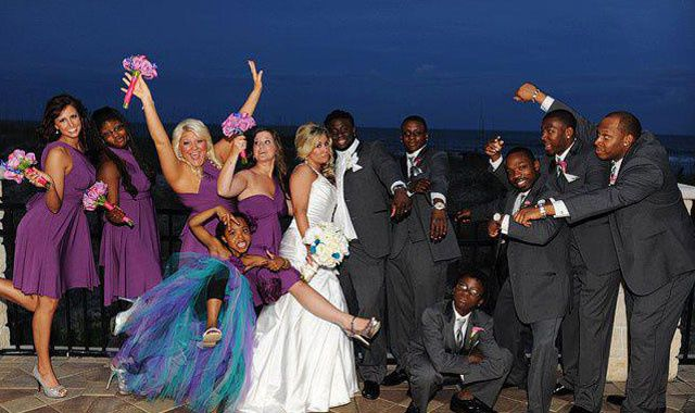 NFL celebrity wedding