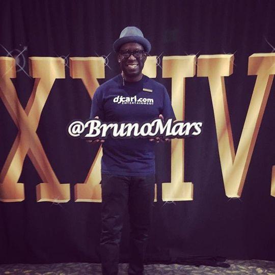 Bruno Mars VIP Tour Party