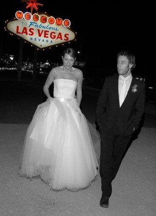 Las Vegas Sign Wedding