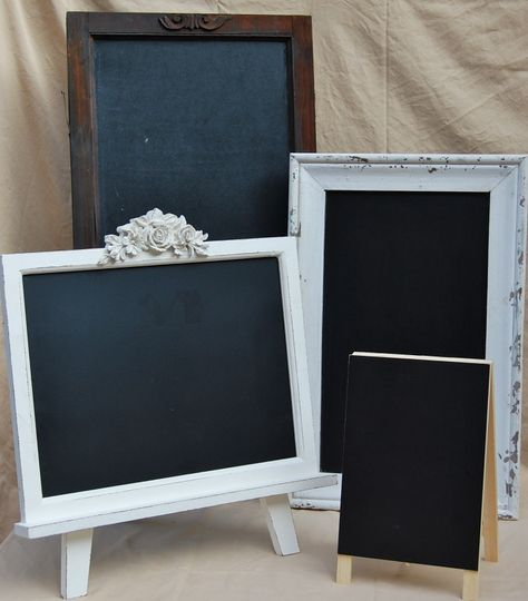 Chalk sign boards