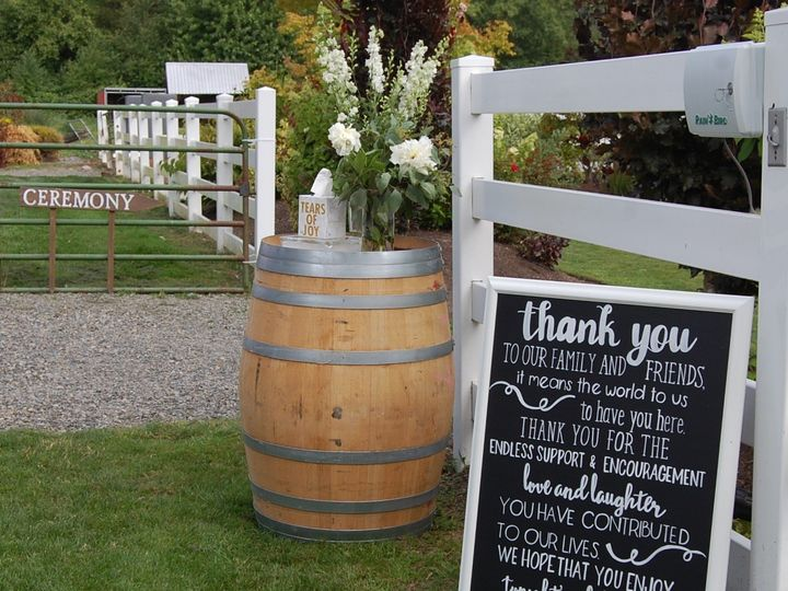 Tmx 1490414075635 Entry For Guests Orting, WA wedding rental