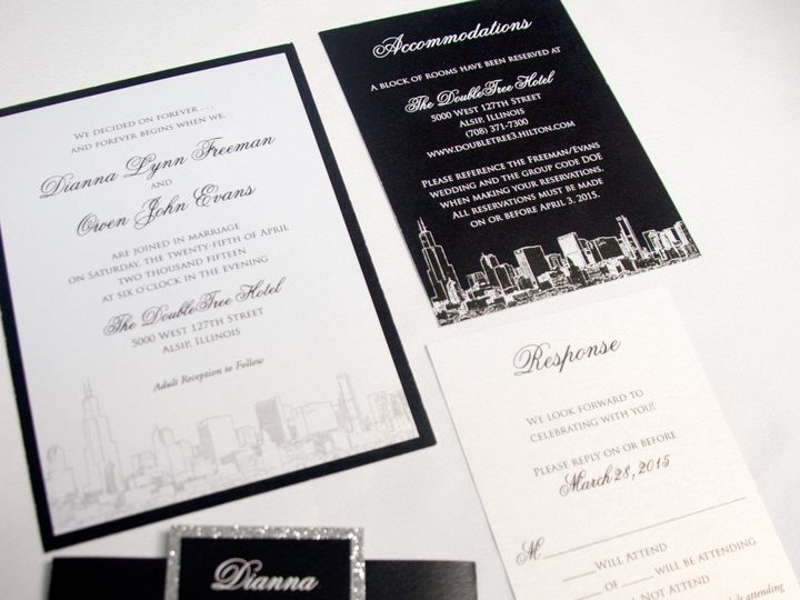Tmx 1442945797340 Citybellybandensemble Oak Forest, IL wedding invitation