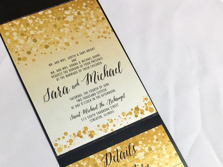 Tmx 1481656216908 Pic3 Oak Forest, IL wedding invitation