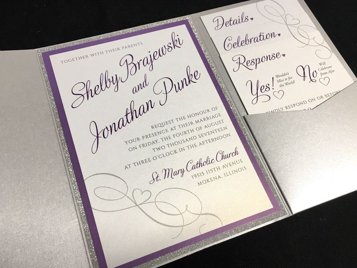 Tmx 1503606062923 Shelby B Oak Forest, IL wedding invitation