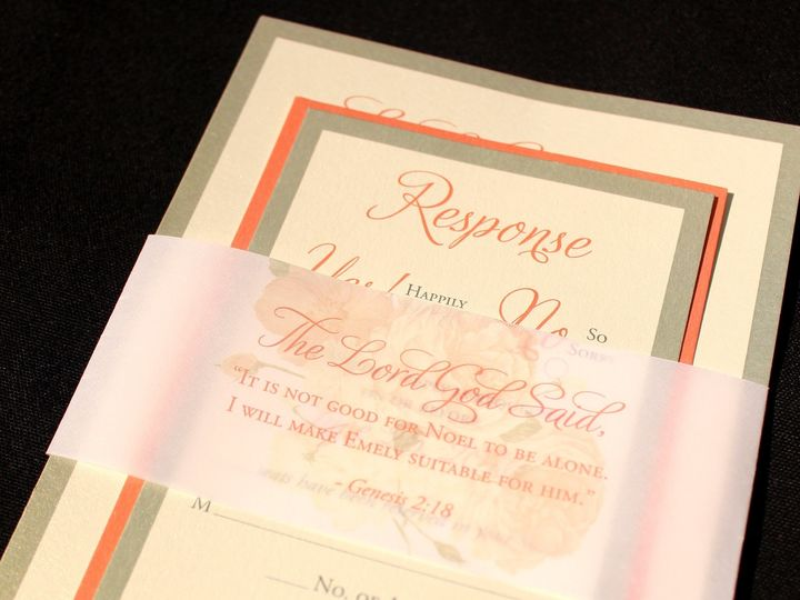 Tmx 1507915744914 Belly Oak Forest, IL wedding invitation