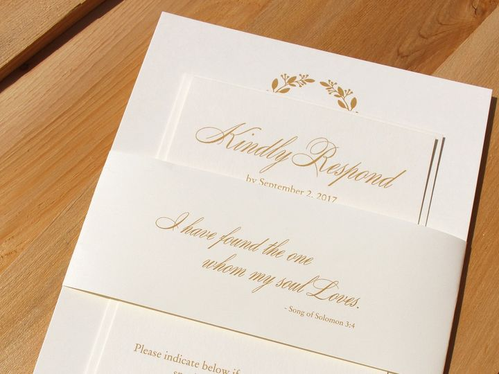 Tmx 1507915767850 Burke Oak Forest, IL wedding invitation