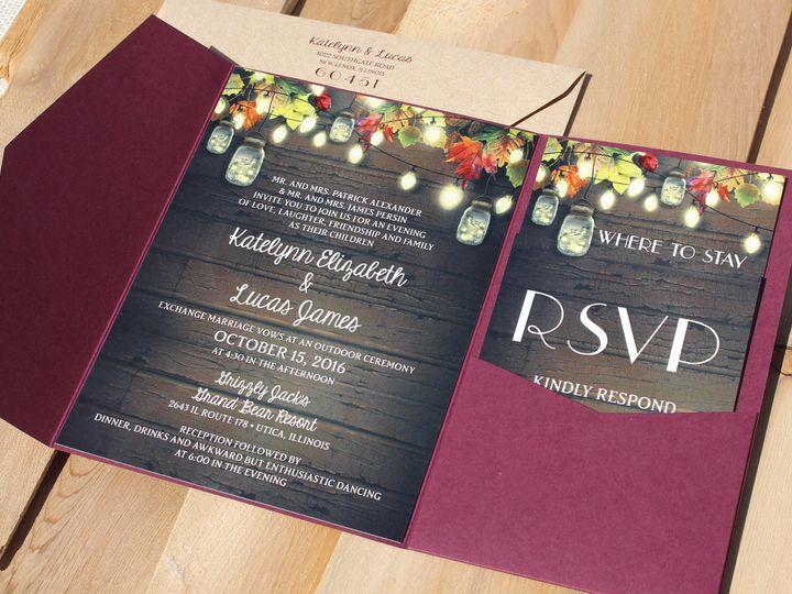 Tmx 1507915837723 Katelyn Alexander Oak Forest, IL wedding invitation