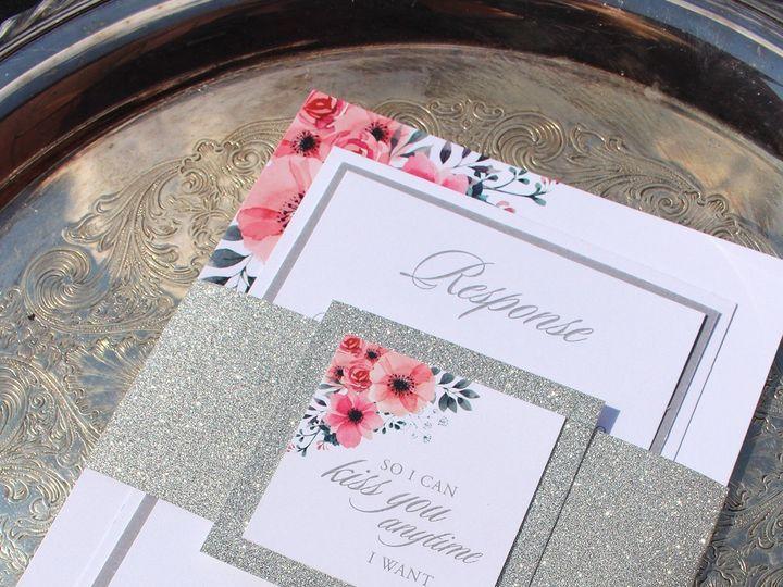 Tmx 1507915877273 Matte Band Oak Forest, IL wedding invitation