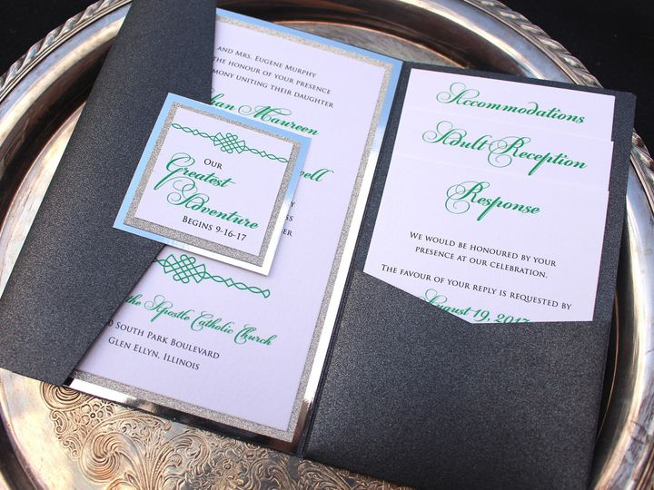 Tmx 1507915888431 Meghan Murphy Oak Forest, IL wedding invitation