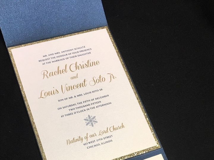 Tmx 1507916999533 Winter2 Oak Forest, IL wedding invitation