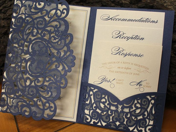 Tmx 1523993643 D2226c9de02ad724 1523993641 A2aff7f17103adb8 1523993641007 2 Heart Laser Cut Oak Forest, IL wedding invitation