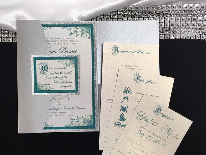 Tmx Fairytale Wedding3 1 51 129420 1566422687 Oak Forest, IL wedding invitation
