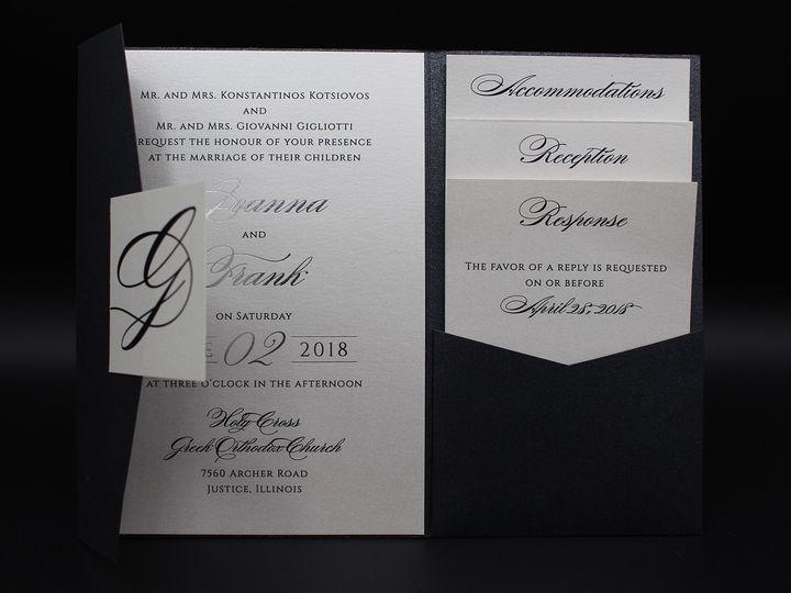 Tmx Img 8384edit 51 129420 1565293937 Oak Forest, IL wedding invitation