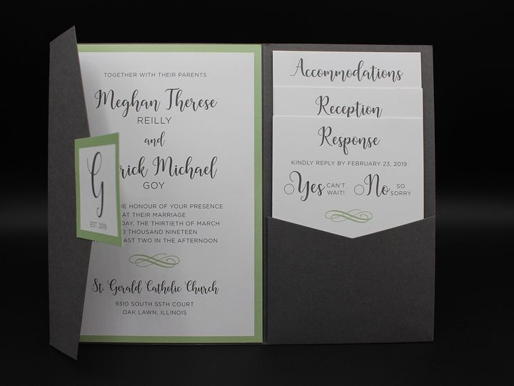 Tmx Img 8393edit 51 129420 1565293969 Oak Forest, IL wedding invitation