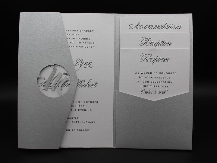 Tmx Img 8398edit 51 129420 1565293989 Oak Forest, IL wedding invitation