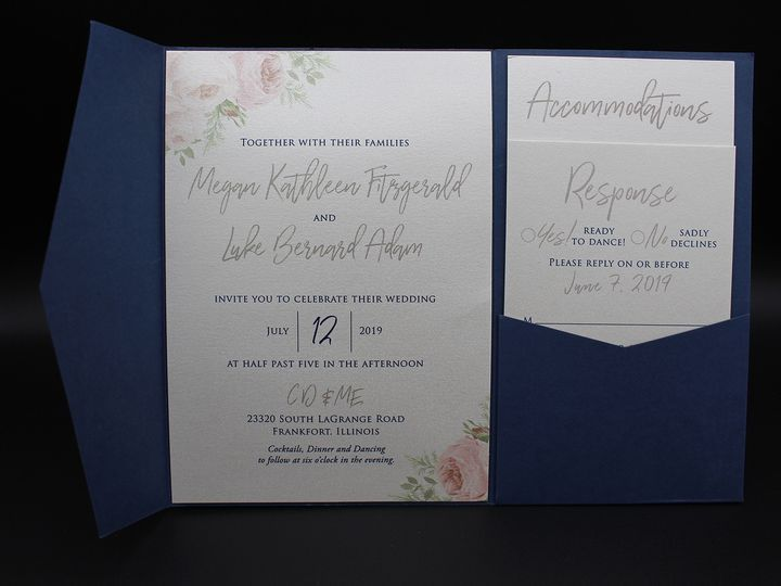 Tmx Img 8403edit 51 129420 1565294017 Oak Forest, IL wedding invitation