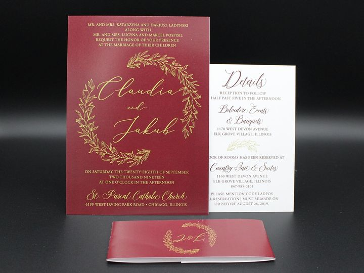 Tmx Img 8450edit 51 129420 1565294039 Oak Forest, IL wedding invitation