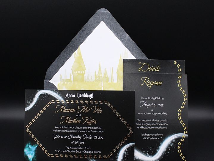 Tmx Img 8484edit 51 129420 1565294130 Oak Forest, IL wedding invitation