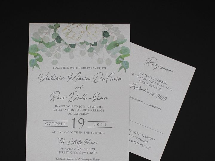 Tmx Img 8497edit2 51 129420 1565294196 Oak Forest, IL wedding invitation