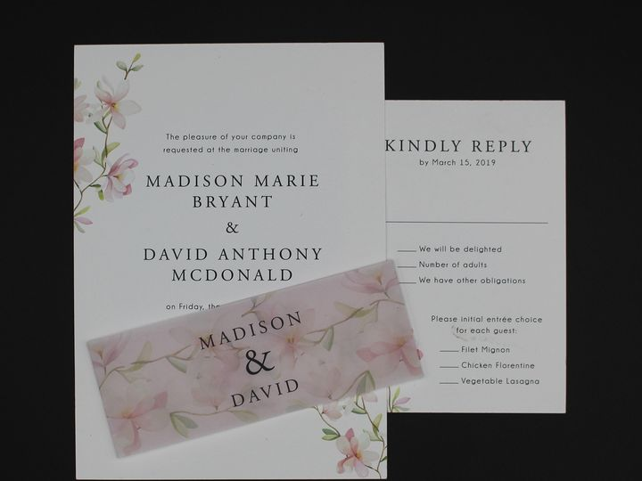 Tmx Img 8498edit 51 129420 1565294218 Oak Forest, IL wedding invitation