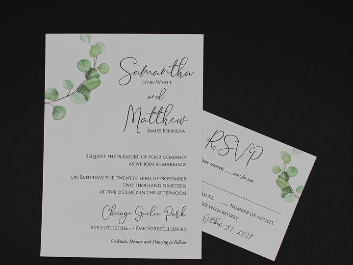 Tmx Img 8504edit 51 129420 1565294247 Oak Forest, IL wedding invitation