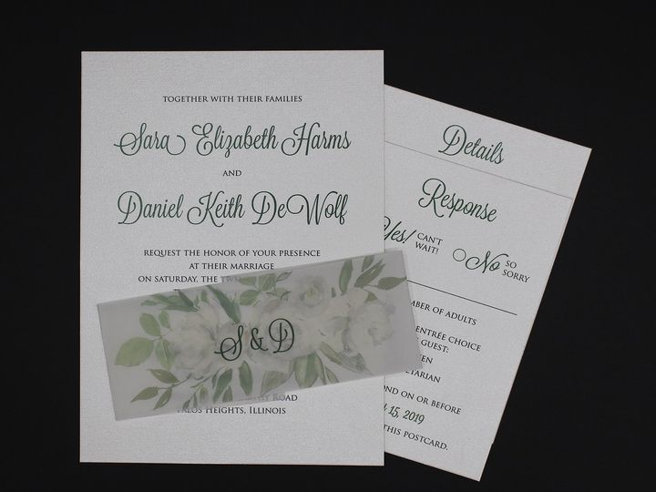 Tmx Img 8512edit 51 129420 1565294390 Oak Forest, IL wedding invitation
