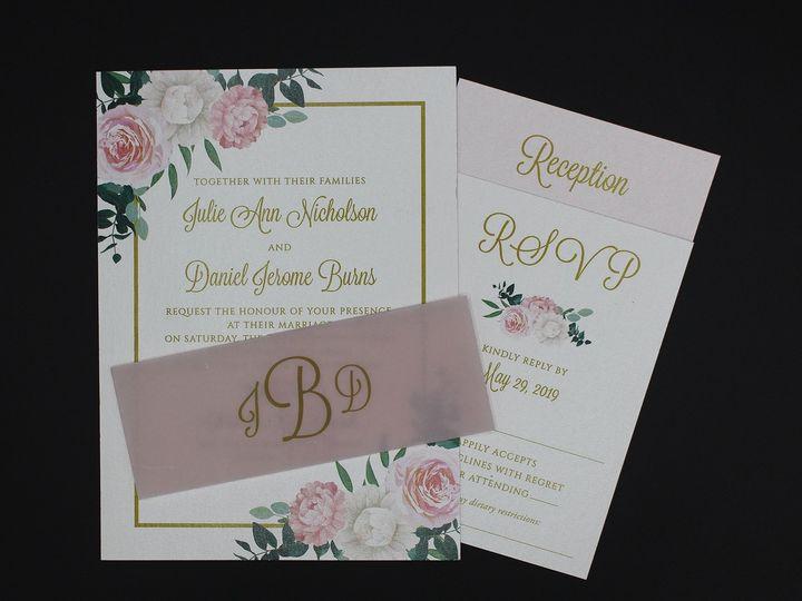 Tmx Img 8526edit 51 129420 1565294438 Oak Forest, IL wedding invitation