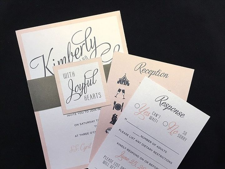 Tmx Kimberly 51 129420 1566422669 Oak Forest, IL wedding invitation