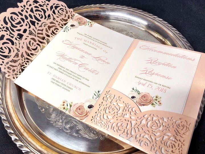 Tmx Rosepocketlaser 51 129420 1565632821 Oak Forest, IL wedding invitation