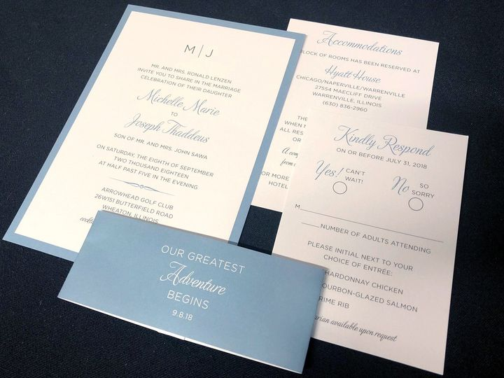 Tmx Simplebluebellyband 51 129420 1565633953 Oak Forest, IL wedding invitation