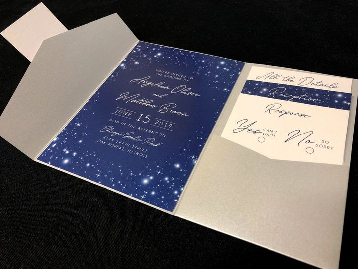 Tmx Starrynightpocket 1 51 129420 1565632825 Oak Forest, IL wedding invitation