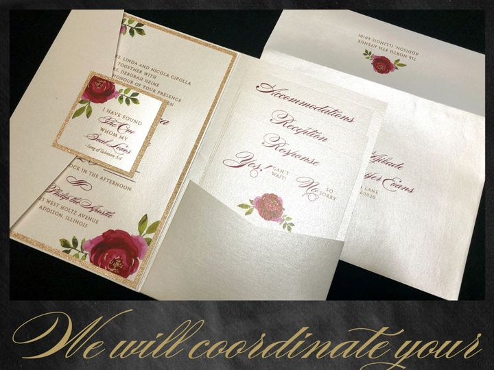 Tmx Wecoordinatoryourensemble 51 129420 1565881618 Oak Forest, IL wedding invitation
