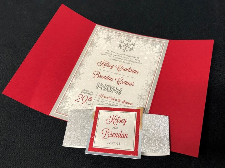 Tmx Winterredpocket 51 129420 1565634024 Oak Forest, IL wedding invitation