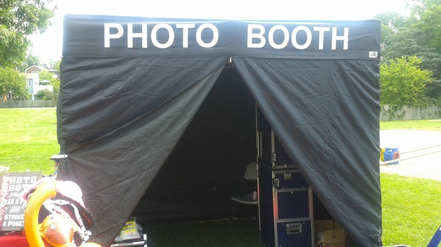 Photo Booth Outdoor Tent