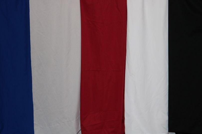 Photo Booth Curtain - Plain