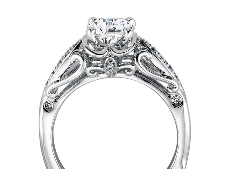 Tmx 1479762408113 Decorative Flair With Open Scroll Profile Burlington, MA wedding jewelry