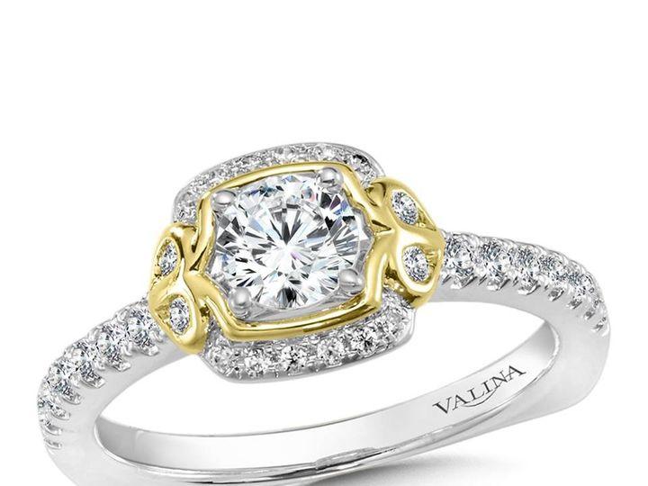 Tmx 1479762440975 Duo Tone Engagement Ring Burlington, MA wedding jewelry