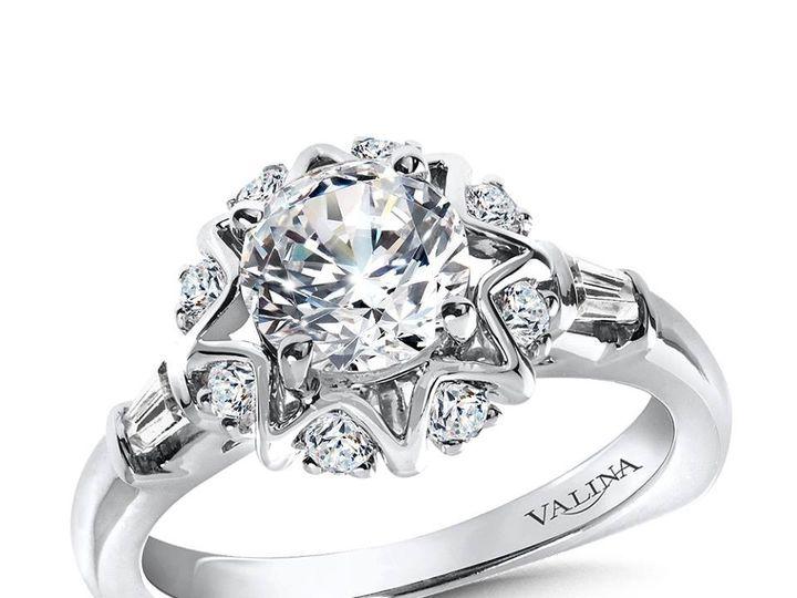 Tmx 1479762463643 Halo Engagement Ring Modern Style Burlington, MA wedding jewelry