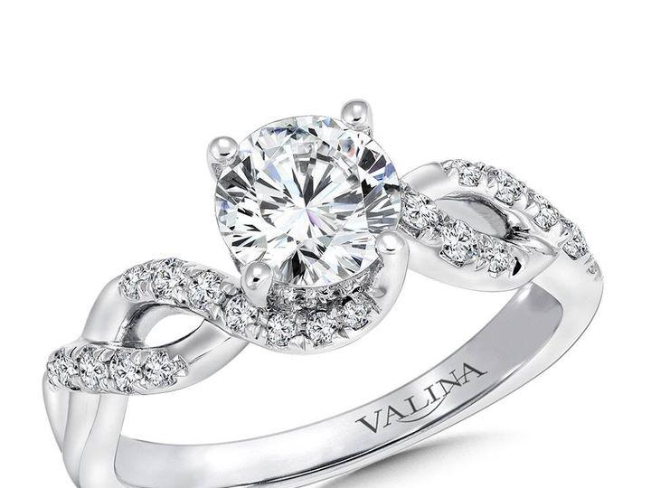 Tmx 1479762484966 Knotted Engagement Ring Burlington, MA wedding jewelry