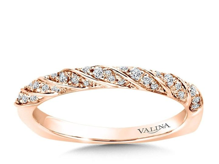 Tmx 1479762539208 Rose Gold Stackable Band Burlington, MA wedding jewelry