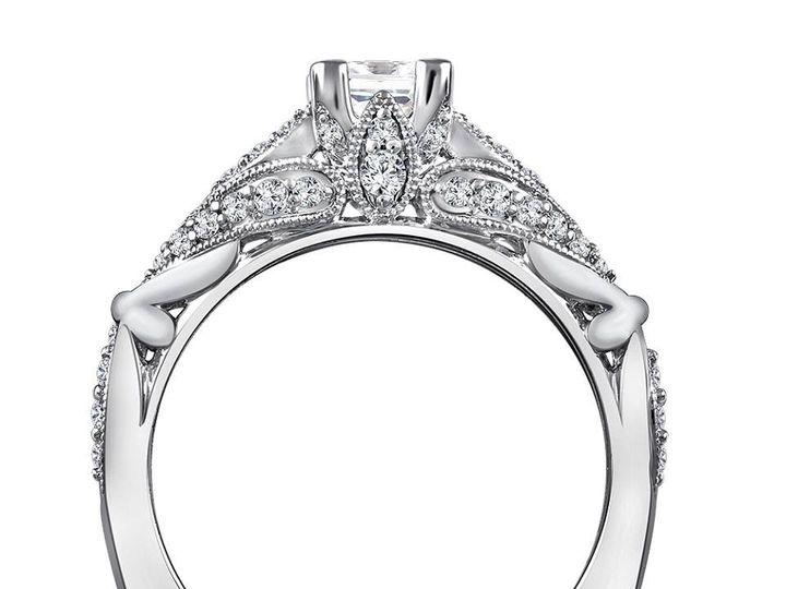 Tmx 1479762570352 Vintage Inspired Engagement Ring Burlington, MA wedding jewelry