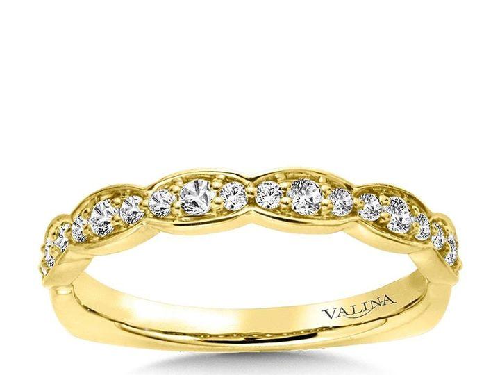 Tmx 1479762595481 Yellow Gold Wedding Band Burlington, MA wedding jewelry