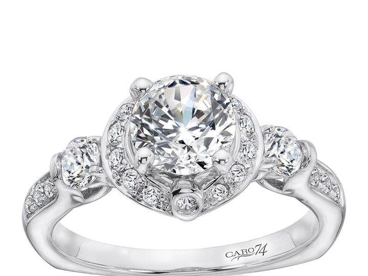 Tmx 1479762677324 3 Stone Engagement Ring Burlington, MA wedding jewelry