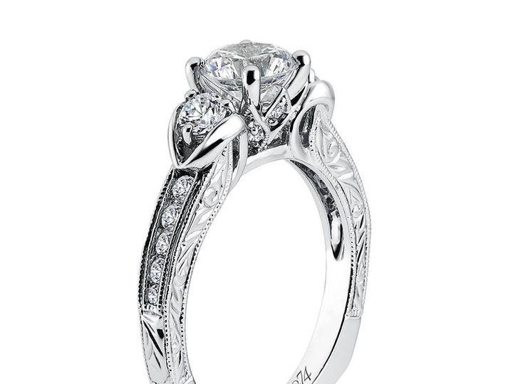 Tmx 1479762677393 3 Stone Vintage Design Burlington, MA wedding jewelry