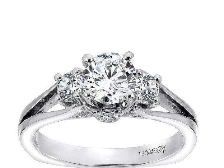 Tmx 1479762691600 A 3 Stone Ring By Caro74 Burlington, MA wedding jewelry