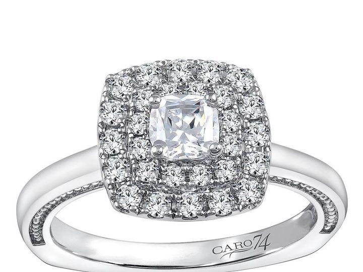 Tmx 1479762736217 Cushion Double Halo Burlington, MA wedding jewelry